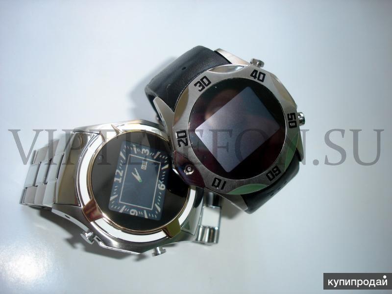 Стальные водонепроницаемые телефон-часы Sports Watch Phone Duos