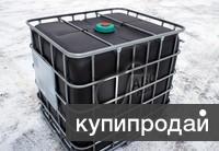 Продам еврокубы б/у .цвет пластика черный промытые