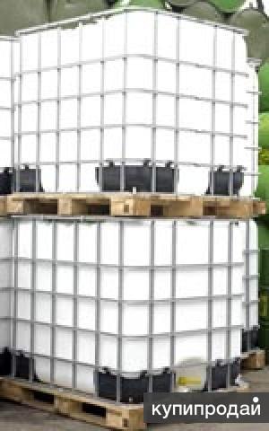 Емкость  -  еврокубы 1 м3 на деревянном поддоне .обработанный и Пропаренный