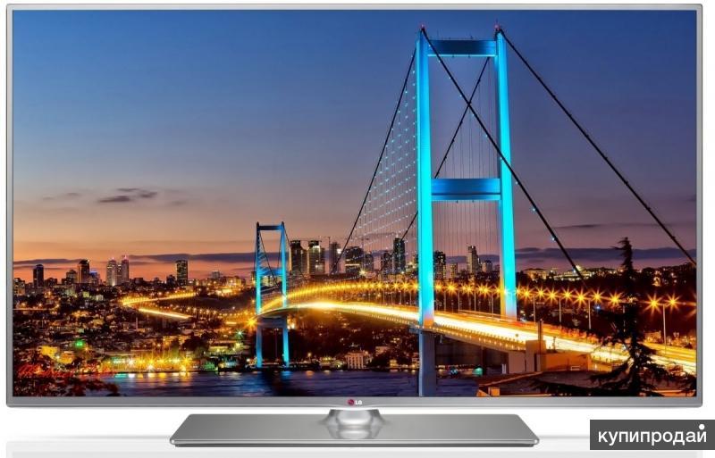 39'' (99см) LG 39LB650V Direct LED 3D 100Hz Wi-Fi SMART FHD DVB-T2