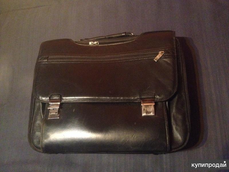 Кожаная сумка для документов/Сумка для ноутбука 15
