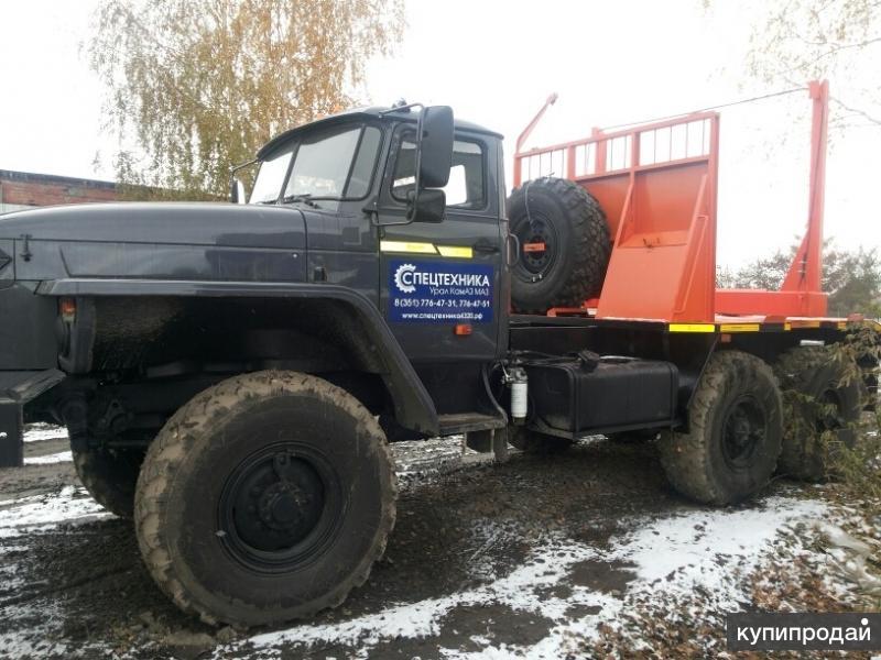 Заводские лесовозы Урал 2016 в наличии с ПТС
