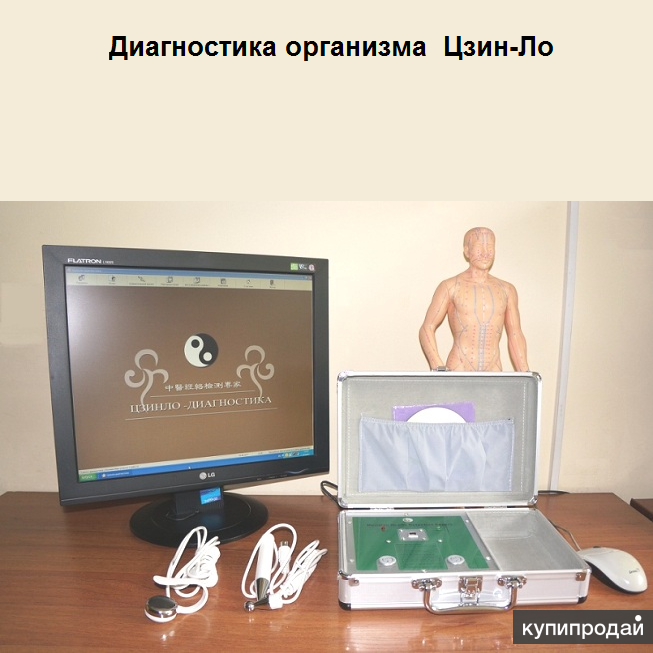 Компьютерная диагностика организма Цзин-Ло. Метод Накатани.
