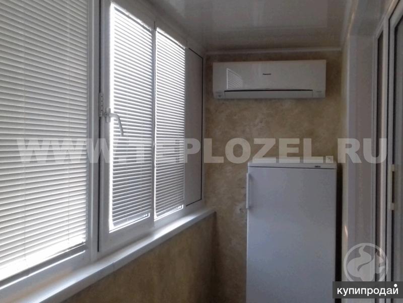 Ремонт балконов в г. зеленоград : остекление, утепление, отд.