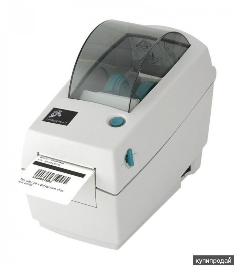 Принтер этикеток штрих-кодов термопринтер Zebra новый