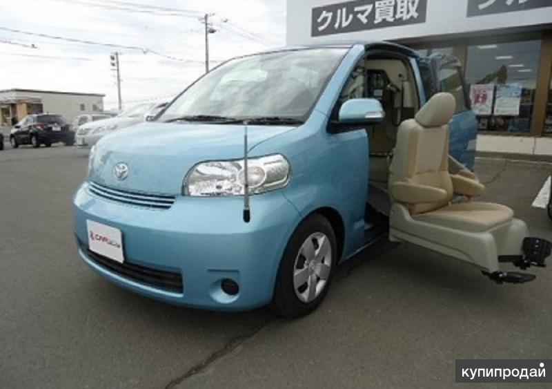 Toyota Porte минивен для водителя колясочника