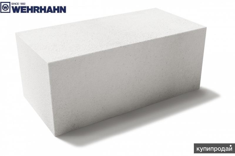 Блоки газосиликатные 1 категории Wehrhahn Старый Оскол