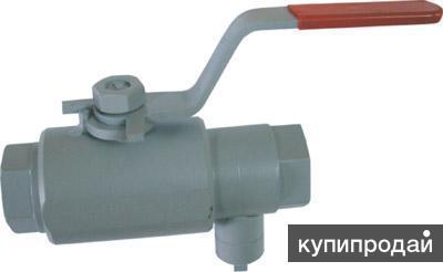 Кран шаровый с клапаном сброса давления МТА КШ Р21 1415 Ду 15 Ру 35,0 МПа