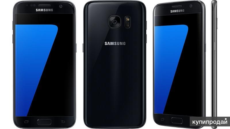 Новый Samsung Galaxy S7 32Gb Black Diamond