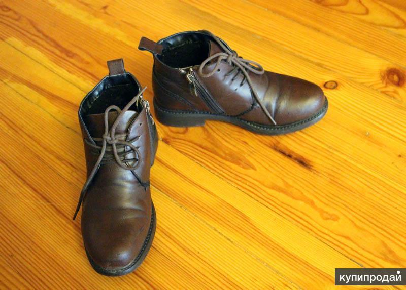 Демисезонные ботинки 34 р-р для мальчика
