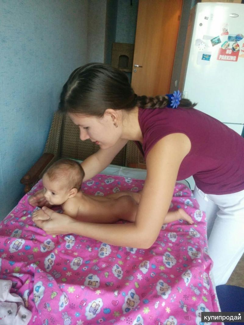 Детский массаж у вас дома!