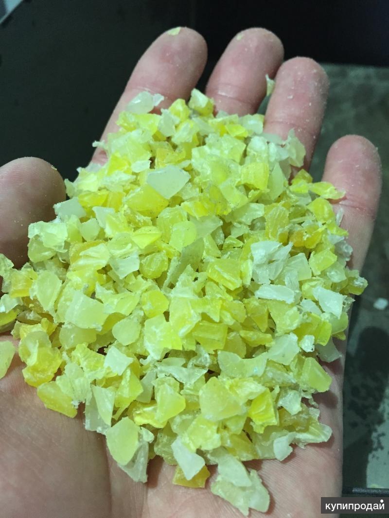 Продам полипропилен МПП ярко желтый, HDPE 22-12 .