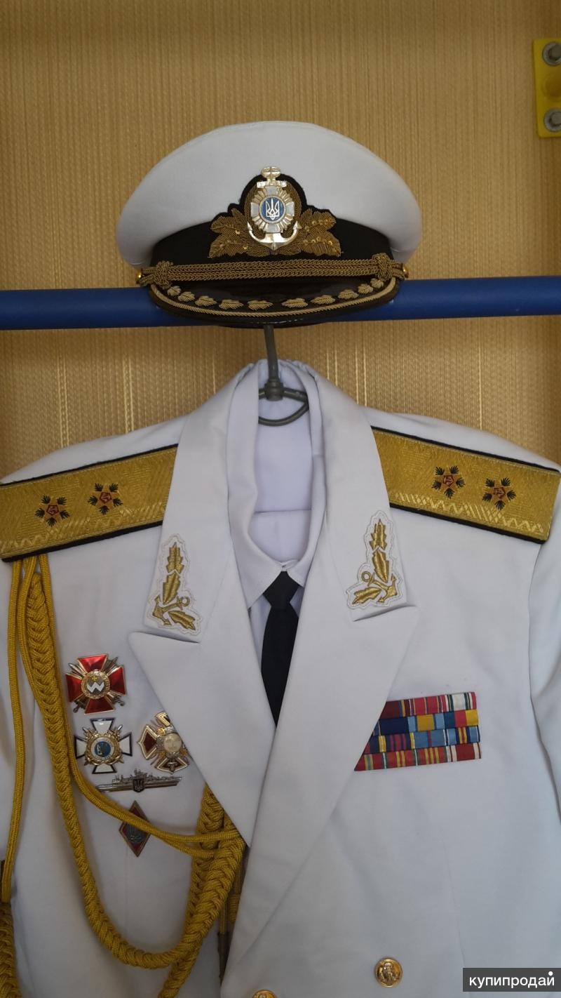 Форма ВМС УКРАИНЫ. Вице-адмирал. Парадная