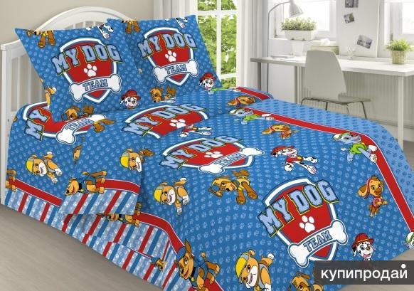 Щенячий патруль - постельное белье детское