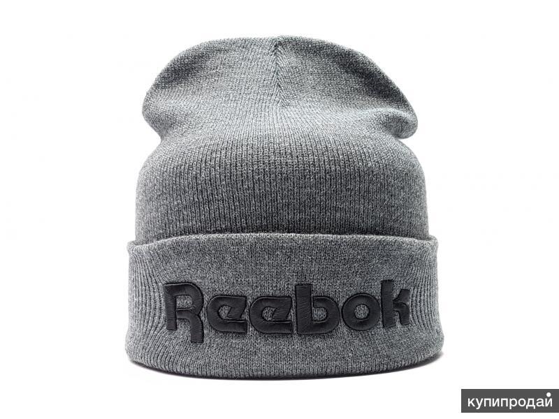 Шапка Reebok R (flap) серый