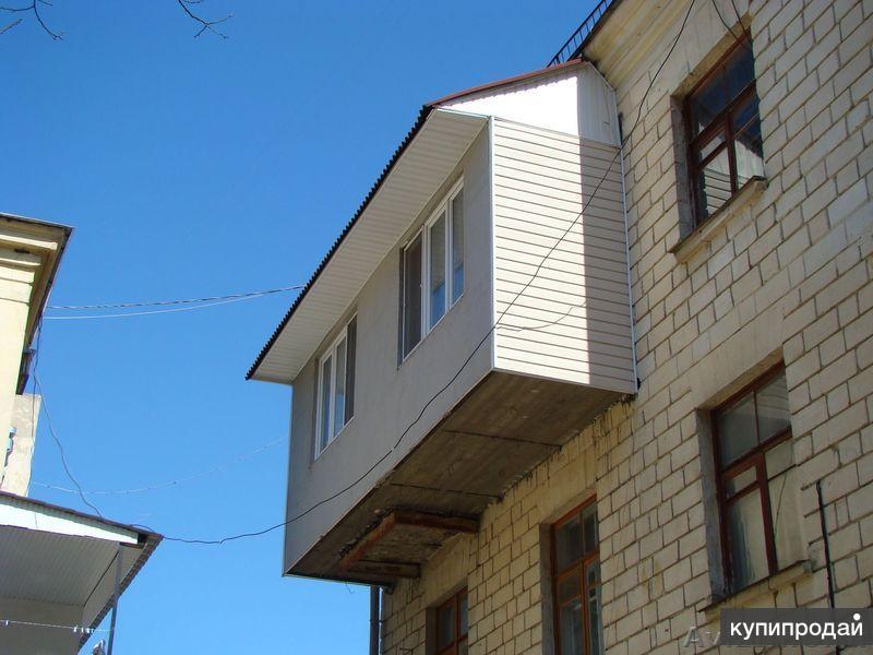 Утепление и обшивка (облицовка) балконов, лоджий. санкт-пете.