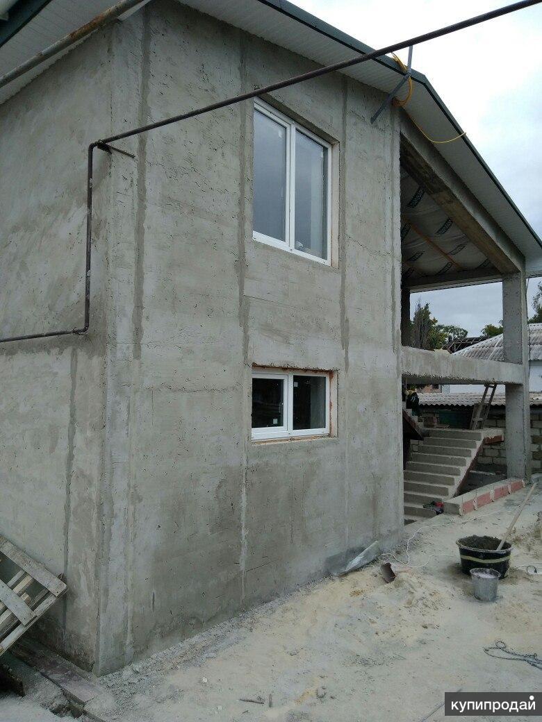 Фасадные работы любой сложности!