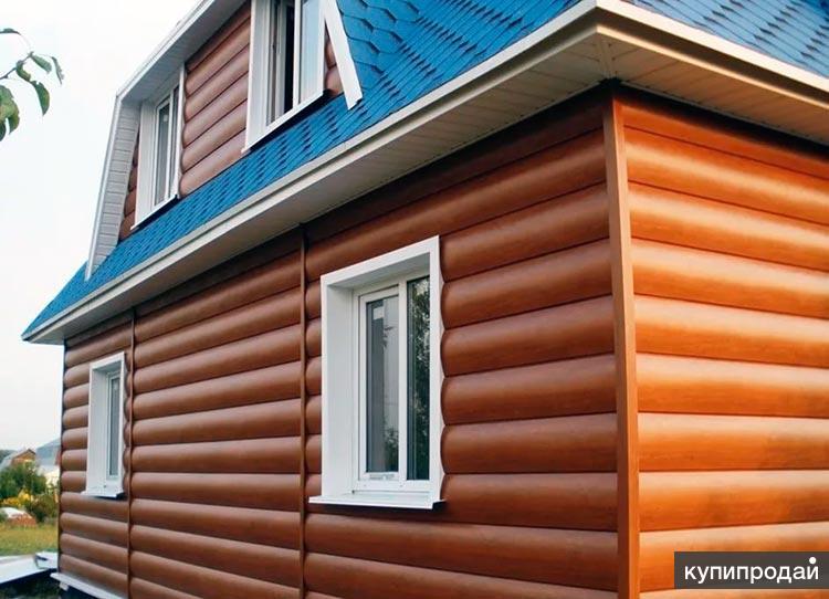 Монтаж металлосайдинга в Пензе, бригада отделки фасадов домов, дач
