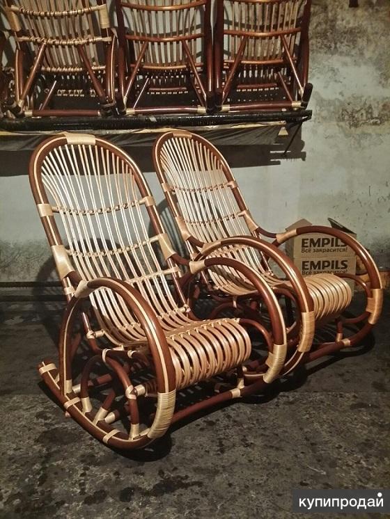 кресло качалки плетеные и корзины