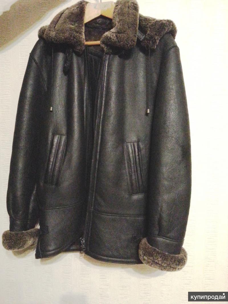 Куртку зимнюю мужскую из натуральной кожи продам