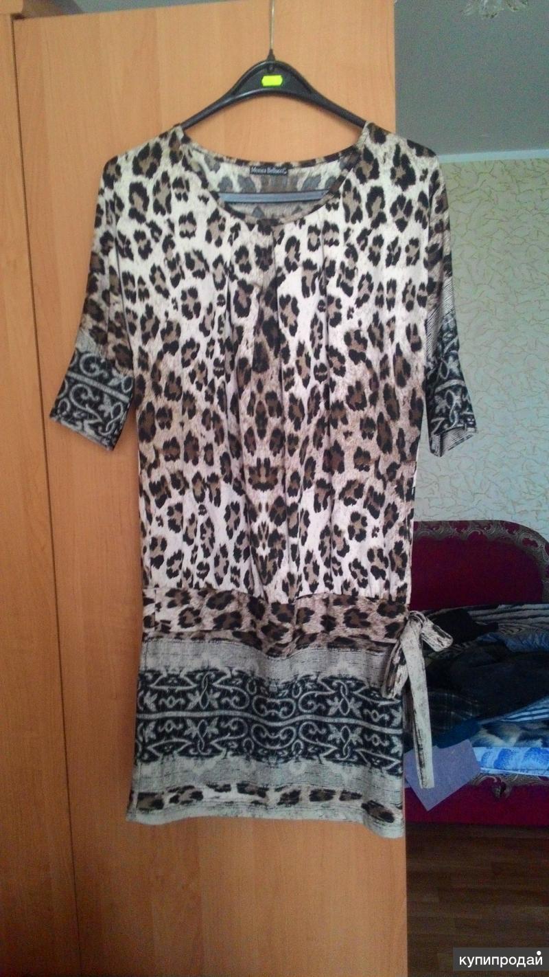 Леопардовое платье.