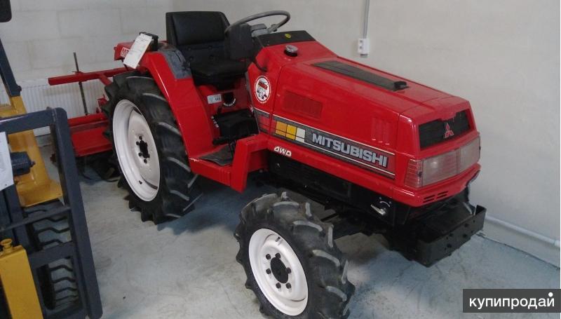 Японский мини трактор MITSUBISHI MT18D