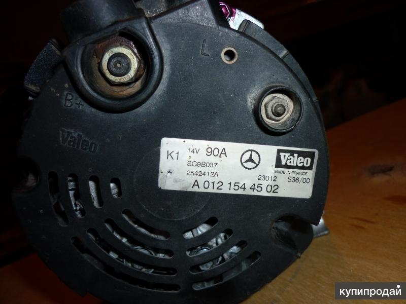 генератор на мерседес А140