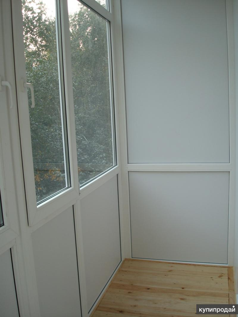 Отделка балконов и лоджий тюмень.