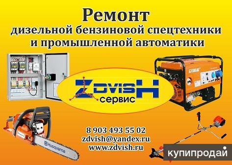 Ремонт бенз., диз., газ. генераторов, бенз. садовой техники, сварочных аппаратов