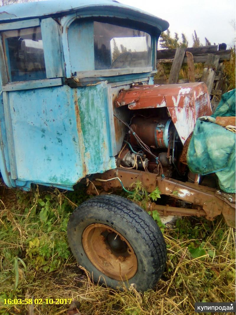 породам трактор самоделку