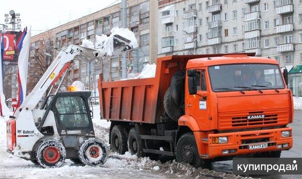 Услуги и аренда мини погрузчика Bobcat в СПб