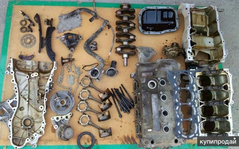Двигатель 2ZRFE в разбор.