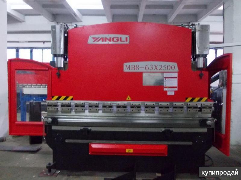 Продаю Yangli mb8 Гидравлический листогиб 250x4200