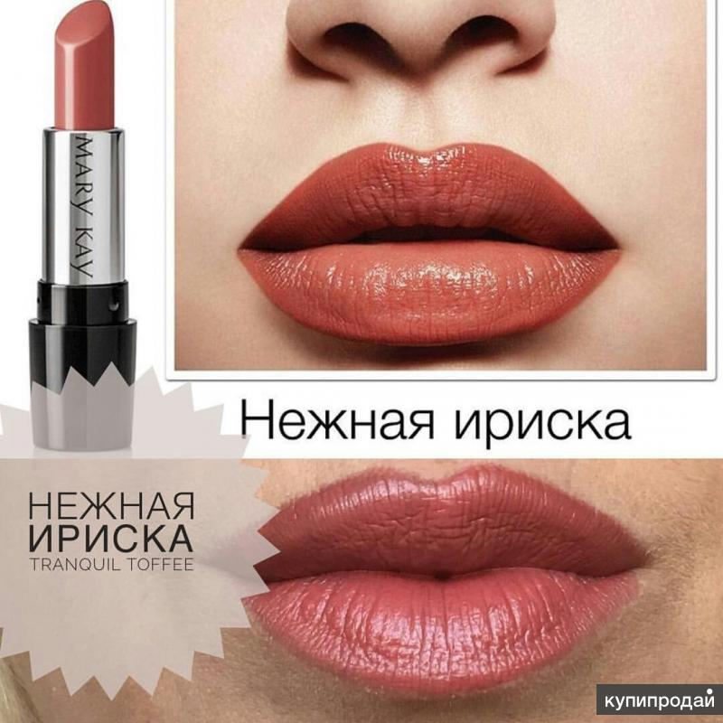 Сияющая гелевая губная помада Mary Kay®«Нежная ириска»