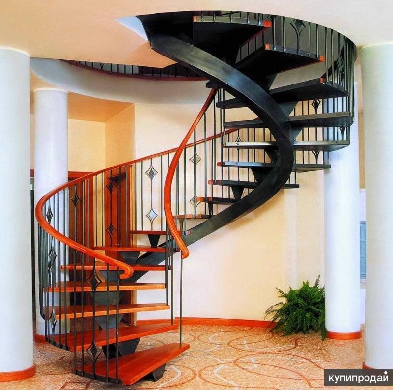 Бетонные, монолитные, винтовые лестницы( любой конфигурации)