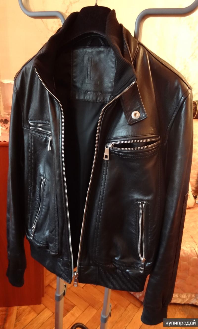 Куртка Lagerfeld новая демисезонная кожаная