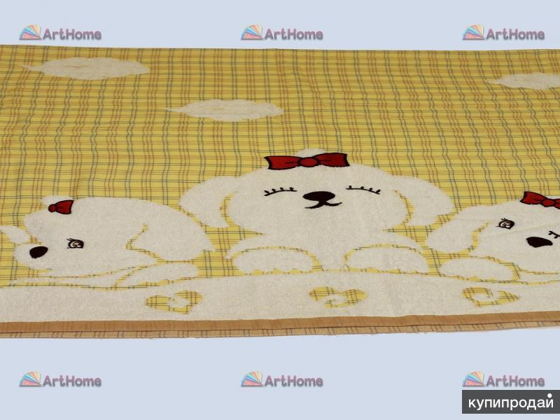 Детское полотенце Собачки