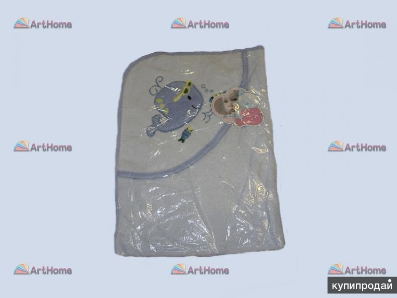 Детское полотенце уголок Панда и Кит