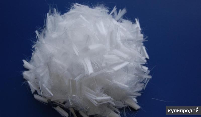 Полипропиленовое штапельное волокно и фибра