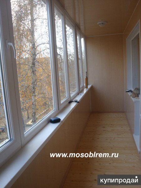 Качественная обшивка лоджий и балконов, квартир, дач, бань п.