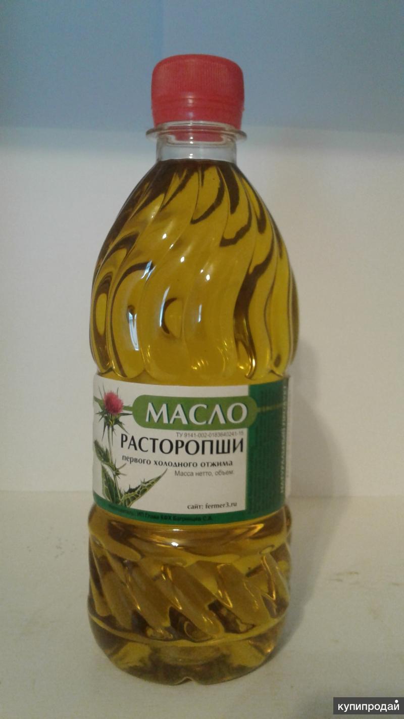 КФХ продает масла х/о льняное, амарантовое, расторопши, тыквенное и др.