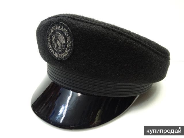 Кепка капитанка мужская (шерсть) ланд