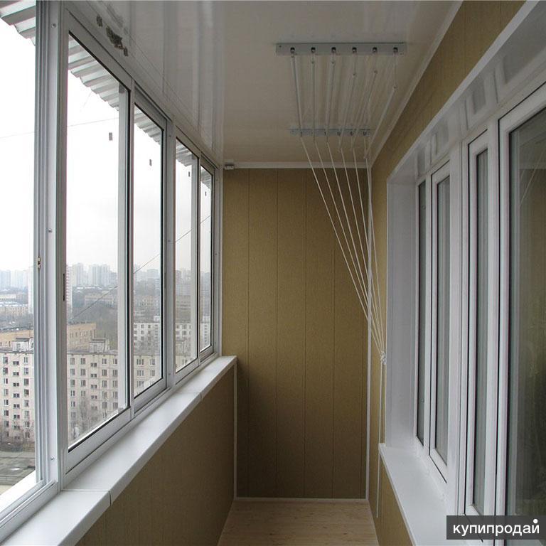 Цены отделка, остекление, утепление балконов и лоджий в моск.