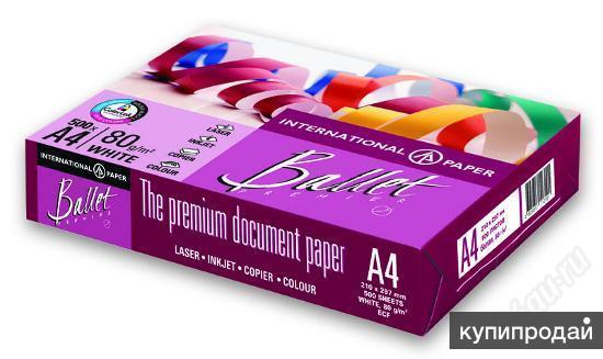 бумага ballet premier a4 бумага листовая для офисной техники International Paper