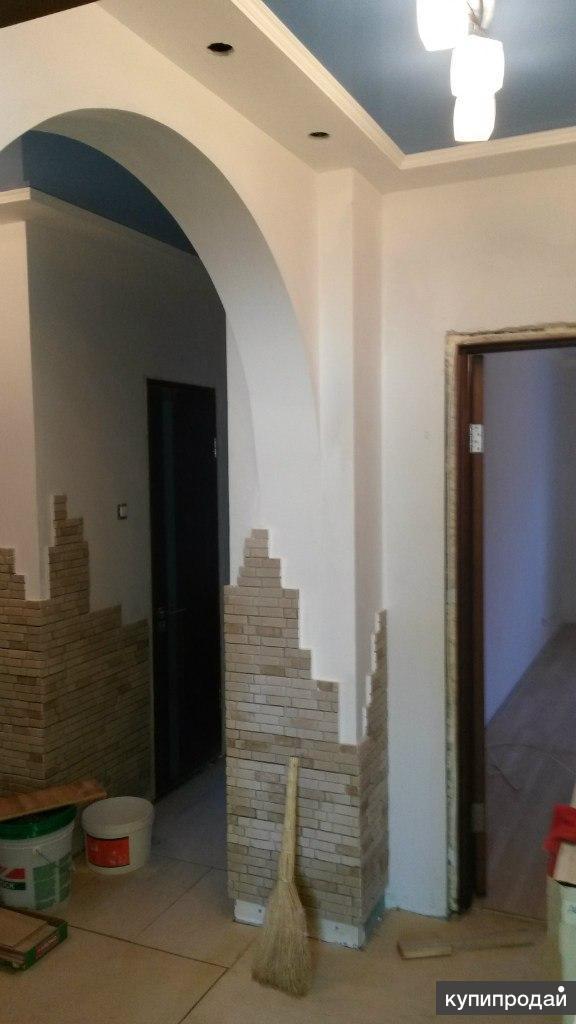 Ремонт квартир, шпатлевка, штукатурка и др.