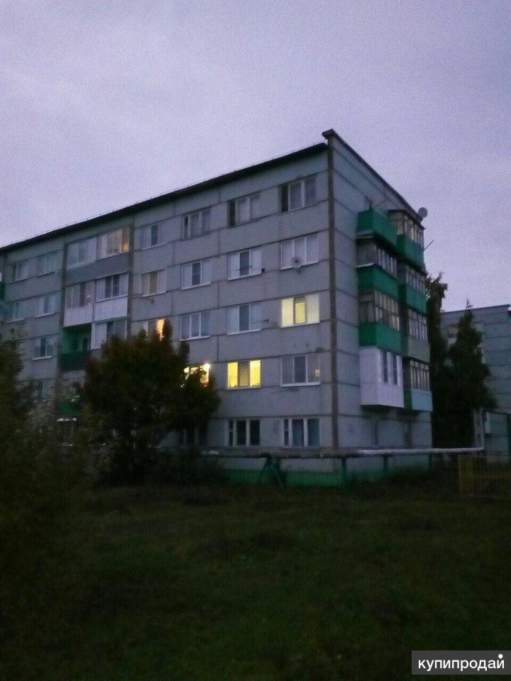 Продам 2 ком. квартиру 52м2. с. Кижеватово ул Молодежная 34. Обмен