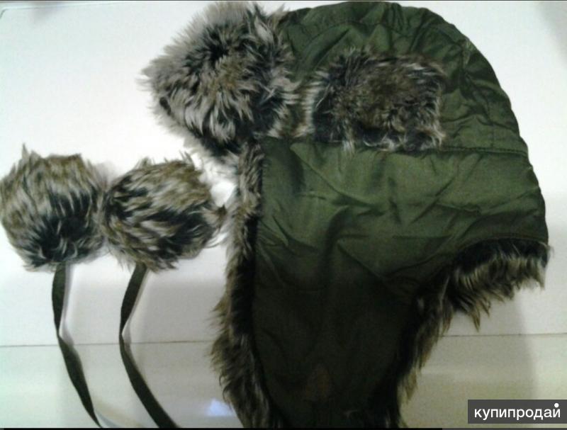 Шапка ушанка зимняя, BAON, унисекс