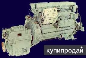 3Д6С2 Судовой двигатель