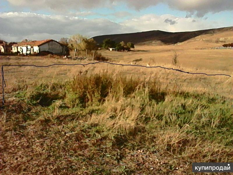 Земельный участок в 4-х километрах от моря.