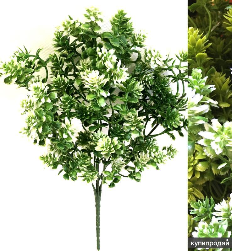 Искусственные цветы.Зелень пластик!